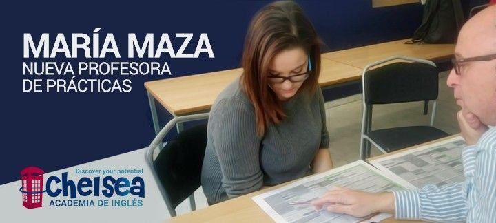 María Maza, nueva profesora de prácticas