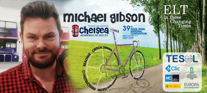 Michael Gibson en las conferencias TESOL