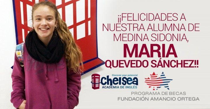¡Enhorabuena María!