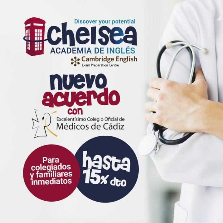 Acuerdo con el Colegio Oficial de Médicos de Cádiz