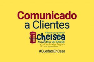 Comunicado a Clientes Chelsea